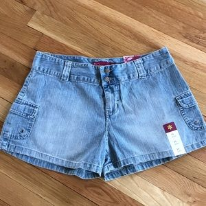 Denim shorts Brand new size 11